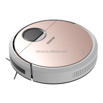 2018 Robot vacuum cleaner with navigation; auto charging robot cleaner; lithium battery vacuum cleaner robot