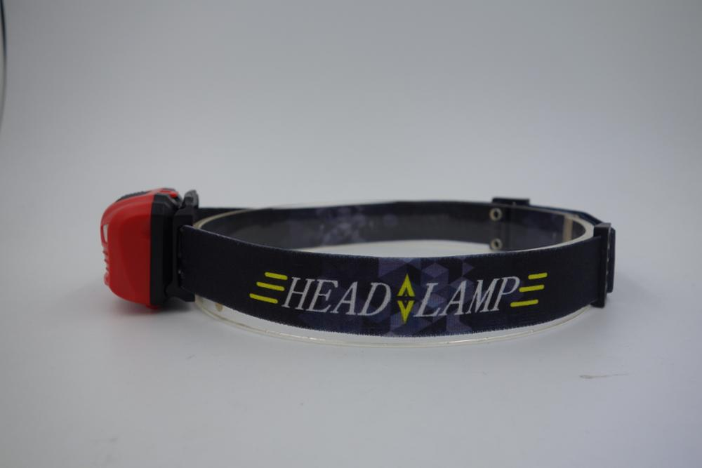 NEW rechargeable and sensable XPE headlamp