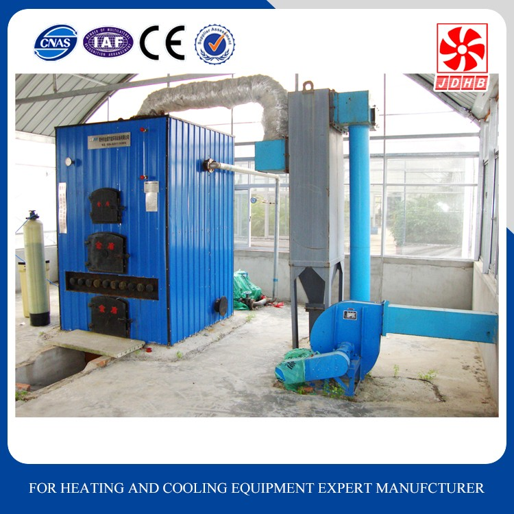 Hot water output gas fired boiler heater for heating