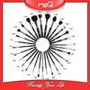 MSQ 29pcs Superior Soft Natural Hair Personalized Professional Cosmetics Brush