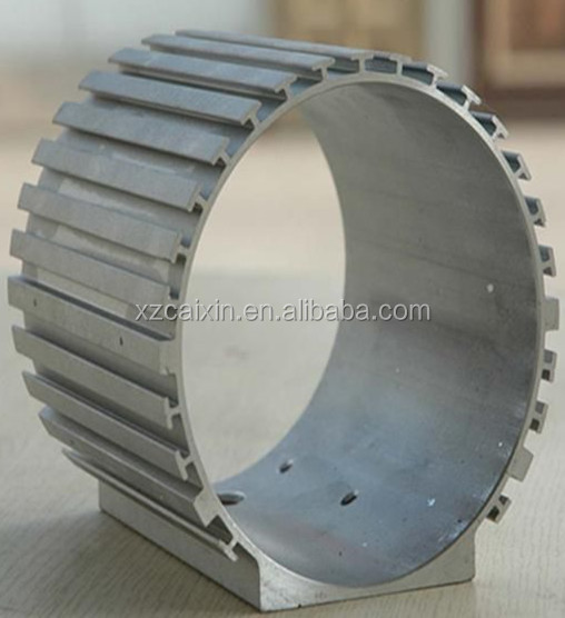 Electric motor aluminum alloy shell
