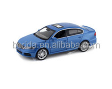 Alloy die casting 1:64 scale pull back model car with 4 opening door