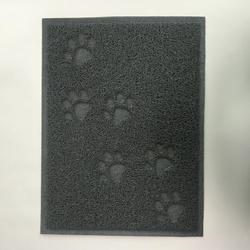 Easy- Washable,Eco-Friendly paw prints toilet pvc coil dog pee mat