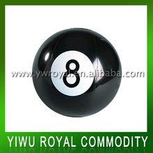 Promotional Number Eight Inflatable Black Beach Ball
