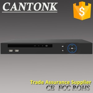 Cantonk 8CH 1U 8PoE Network Video Recorder H.265 1080P POE NVR