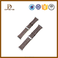 2015 Custom best quality supper soft leather 15mm watch band