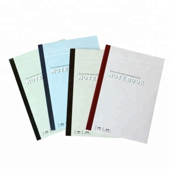 Hot Products China Simple Stationary Blank Notebook Wholesale