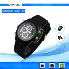 HD Camcorder Watch with 640*480 VGA Video resolution support Motion Detected