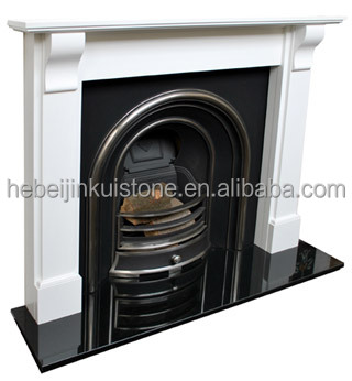 black granite fireplace hearth china factory
