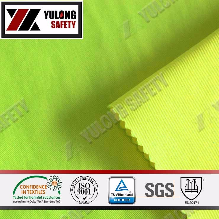 Poly/Cotton High Visible Fabric For Garment With High Color Fastness
