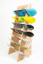 Wooden Skateboard Display Stand Skateboard Rack