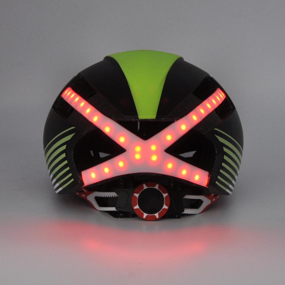 LED lights road cycling helmet quality, PC in-mold bicycle helmet led bicycle helmet light