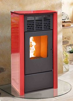 HOT!! new design wood pellet stove 13kw