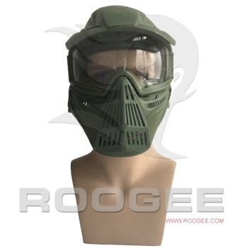 Military wargame tactical gear green full face Mask