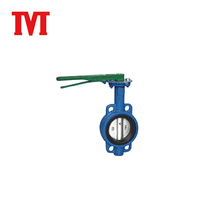 wholesale manual multifunctional wafer type butterfly valve