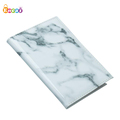 Encai Fashion Marble Pattern Passport Holder Travel PU Passport Cover
