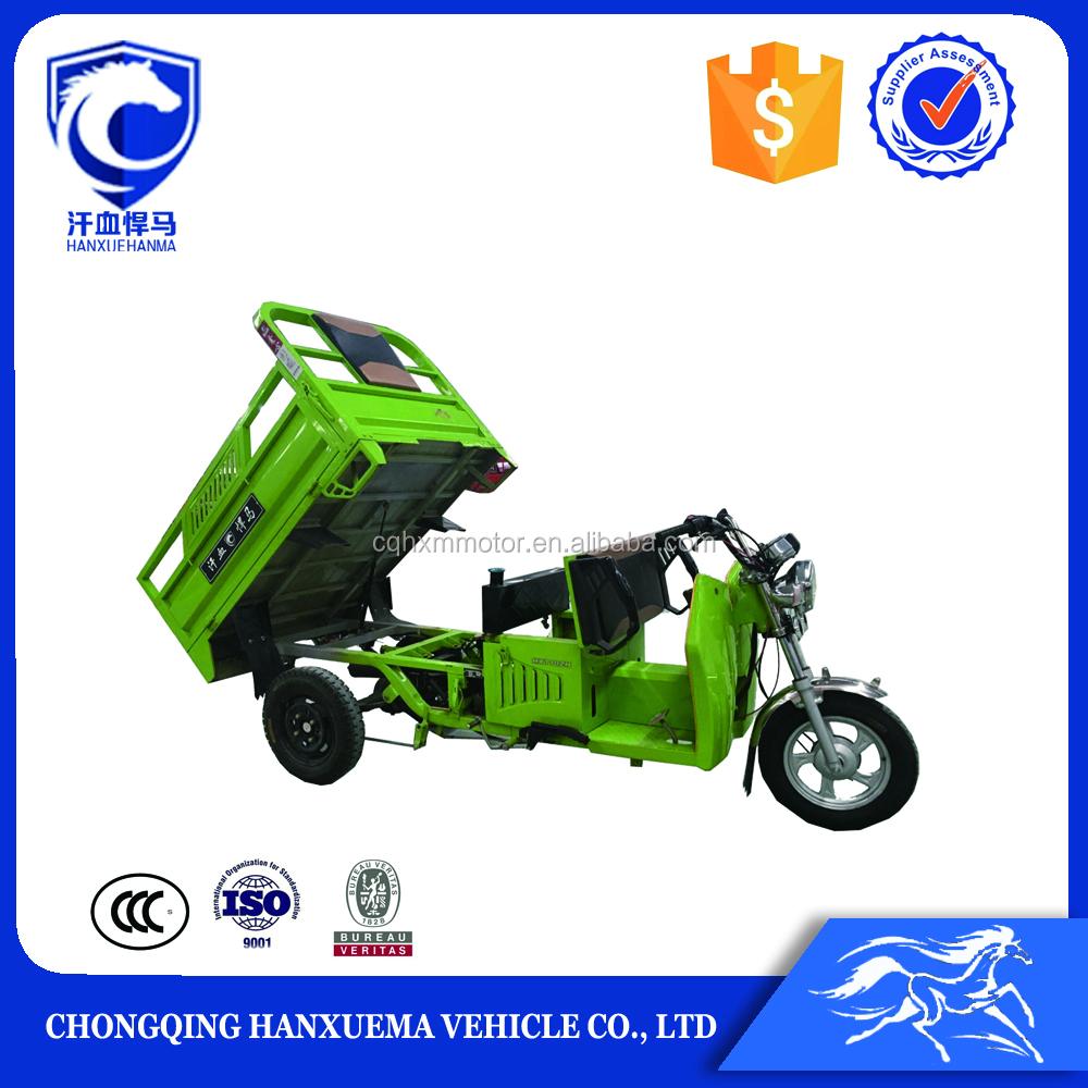2016 new design 3 wheel cargo tricycle for adults