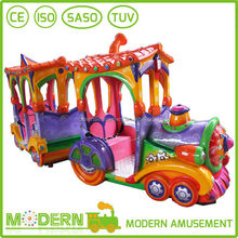 small amusement park outdoor lighted christmas trains kids ride on train for sale
