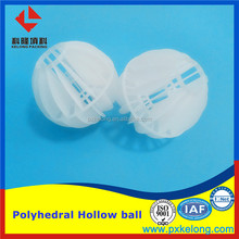 100mm Flame Retarded Polypropylene PP Polyhedral Hollow Ball