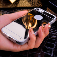 Luxury Plating Mirror Soft TPU Silicon