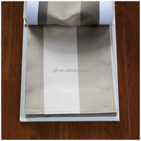 SGS certification permanent flame retardant 100% polyester fabric for hotel/room safety curtain