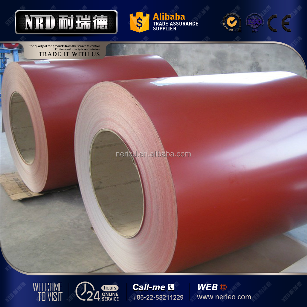 China factory goods color coated steel coil crc coil price with low price prepainted steel for prefabricated house