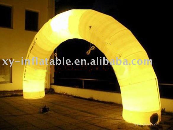 inflatable light arch inflatable lighting wedding decoration arch with LED