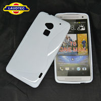 New S Line TPU Gel case for HTC One MAX T6 Soft Back Cover