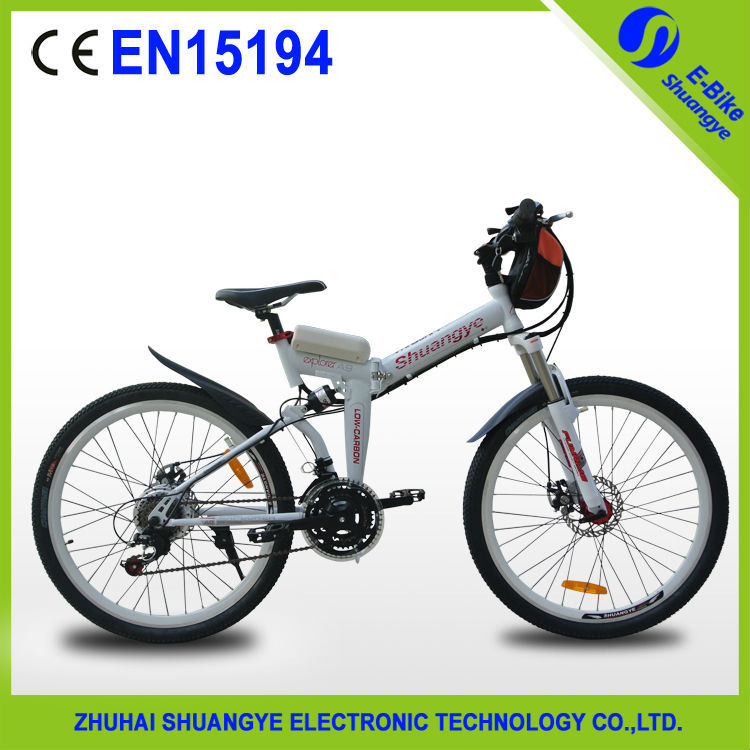 36V250W yellow japanese used mountain bike for 2015