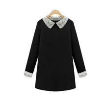 JS 20 Customized use widely large size doll collar loose long sleeve doll brought short dress 1179