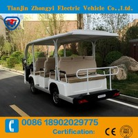 Battery Operated electric sightseeing car made in China