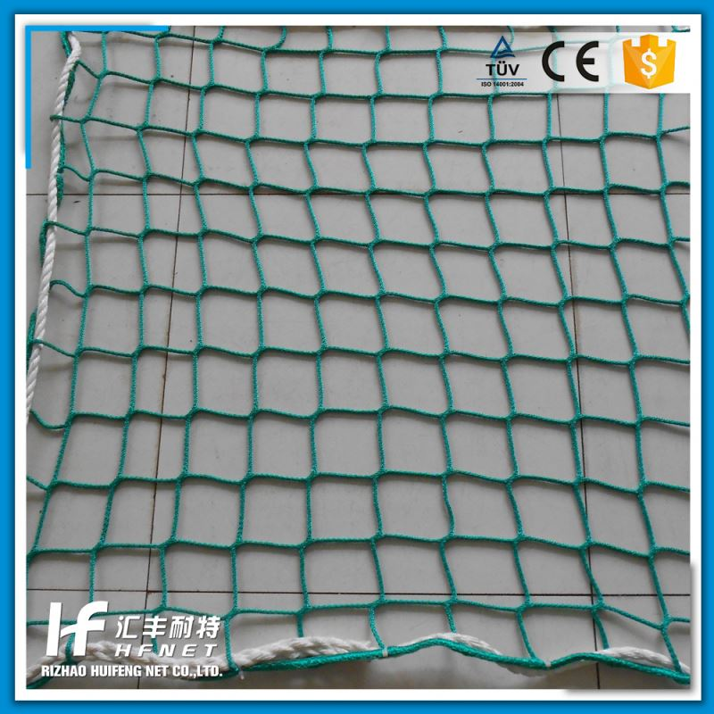 Made In China Colorful Strong Strength Cheap Knotless Nylon Netting Raschel Safety Net