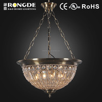 Modern chandelier crystal light D6136-3BRN