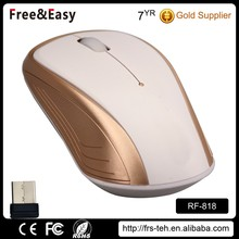 Cute design rf 2.4ghz wireless mouse for Computer and Laptop