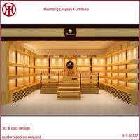 2014 New Design Wooden Shoes Racks, Shoe Shop Interior Decoration Design, Free Shoe Display Showcase Design
