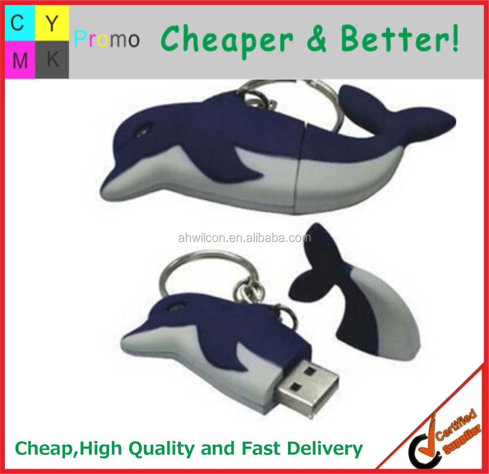 2016 Shape custom Promotional animal usb flash memory