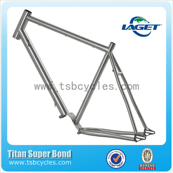 CX titanium bike frame with pinion gear system TSB-CX602