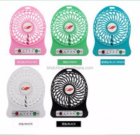 China 12v battery rechargeable mini usb fan cooling small mini pocket fan