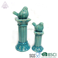 Good Saller Ceramic Small Bird Column