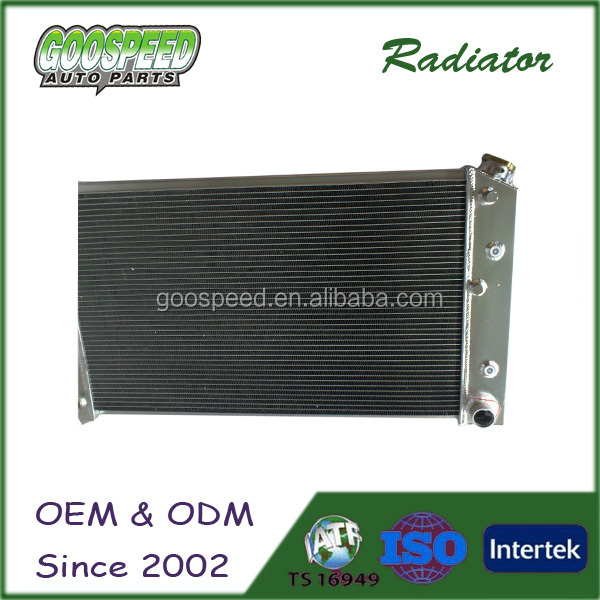 High Performance aluminum car radiators for motorsport