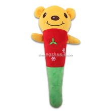 Cartoon bears lovely doll Back Neck Massagers Music Stick for Massage
