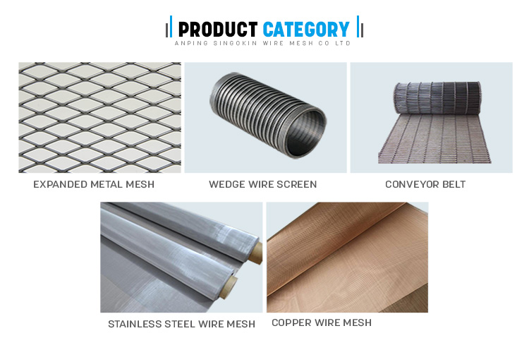 Crimped wire mesh for roast barbecue grill wire mesh bbq mesh netting
