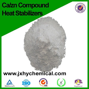calcium zinc composite heat stabilizer for wood plastic foaming product