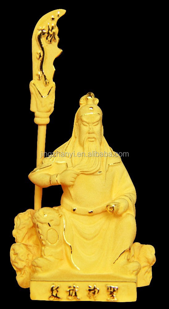 100*48*145 mm mm Kwan Kung statues, copper decoration, brass statues