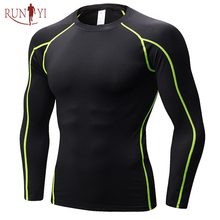 Breathable Blank Men Slim Fit Compression Gear Compressed Fitness <strong>Sports</strong> Running <strong>Sport</strong> Tight Long Sleeve Compression T-Shirt