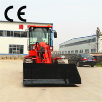 Small wheel Bulldozer for sale, road construction machinery