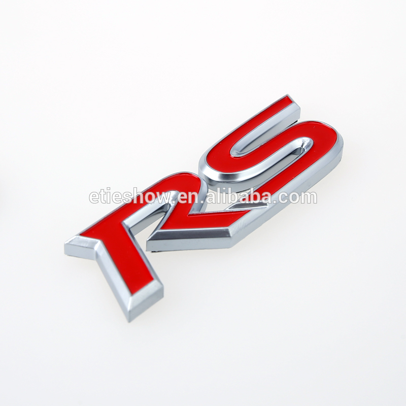 Car body decoration imported abs custom car emblem for sale