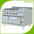 Heavy Duty Commercial Restaurant Supplies: Gas Stove With Grill And Oven