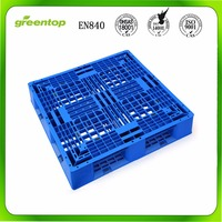 Hot sale cheap euro pallet size, HDPE used plastic pallet