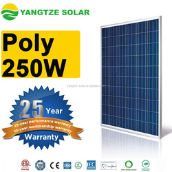 2016 best sale 250w solar panels for home use and inverter